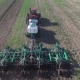 Aerial View of Tractor Sowing Wheat - VideoHive Item for Sale