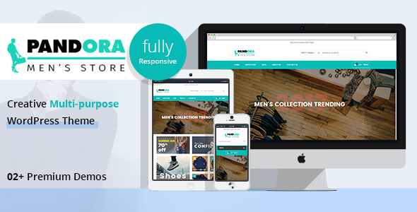 PD Pandora - Men's Fashion WordPress Theme
