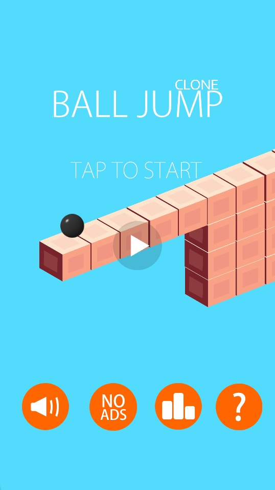 Ball Jump Clone - Universal Template iOS & Android