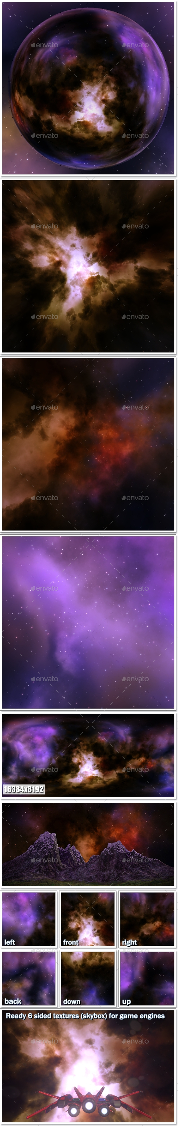 3DOcean Nebula Space Environment HDRI Map 002 20409161