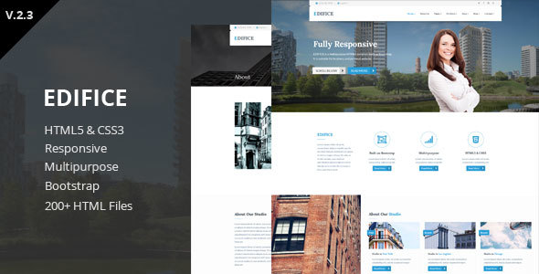 Edifice - Responsive HTML5 Template - Business Corporate