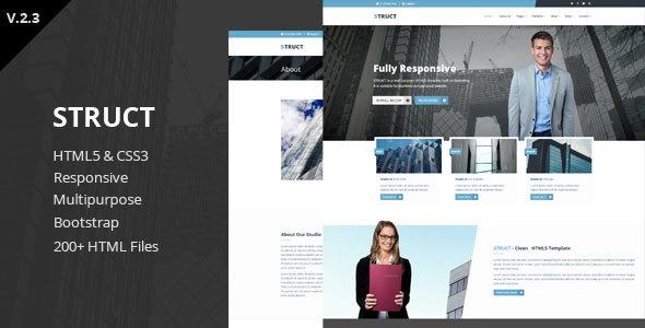 Struct - Responsive HTML5 Template - Business Corporate