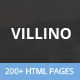 Villino - Multipurpose HTML5 Template - ThemeForest Item for Sale