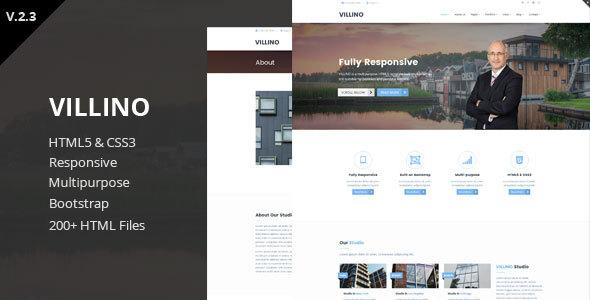 Villino - Multipurpose HTML5 Template - Corporate Site Templates