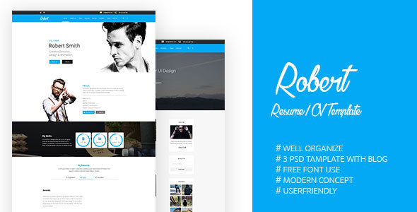 Download Robert-PSD Template