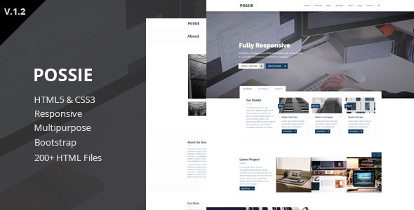 Possie - Multipurpose HTML5 Template