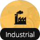Industrial Responsive One Page Template For Industries