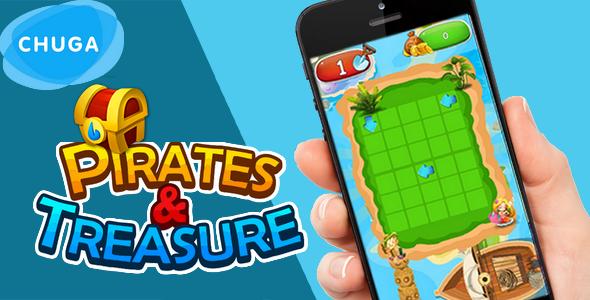 Pirates treasure-html5 game, construct 2