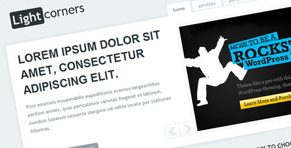 Free Download LIGHTcorners Nulled Latest Version