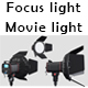 Movie light - 3DOcean Item for Sale