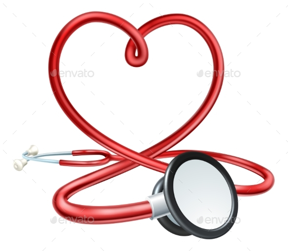 GraphicRiver Stethoscope Heart 20410080