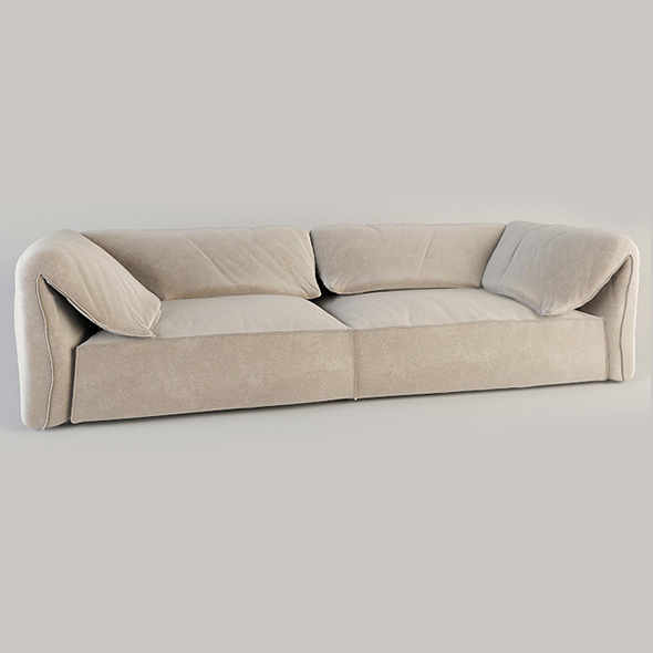 Vray Ready Modern Style Sofa - 3DOcean Item for Sale