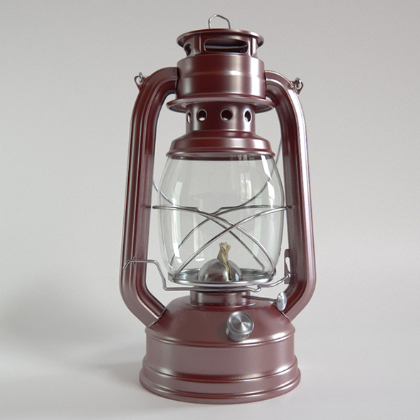 Vray Ready Hanging lantern Lamp - 3DOcean Item for Sale