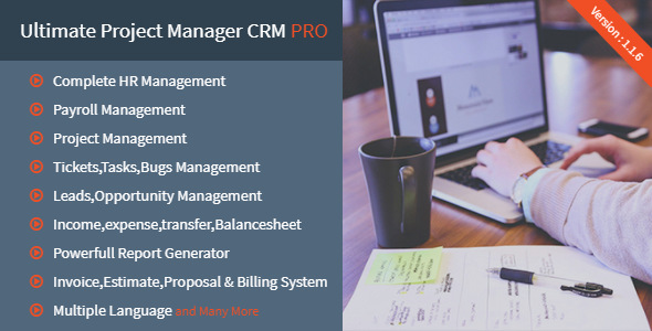 Ultimate Project Manager CRM PRO nulled