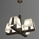Vray Ready Modern Chandelier Light