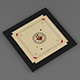 Vray Ready Carrom Board - 3DOcean Item for Sale