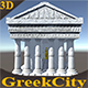 Ancient Greek City Pack I 33 GameReady Assets