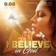 Believe In God Flyer - GraphicRiver Item for Sale