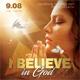 Believe In God Flyer
