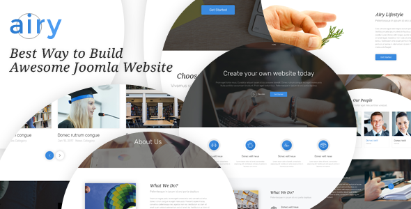 AIRY - Multi-Purpose Joomla Template - Joomla CMS Themes