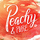 Peachy & Pure - Typeface - GraphicRiver Item for Sale