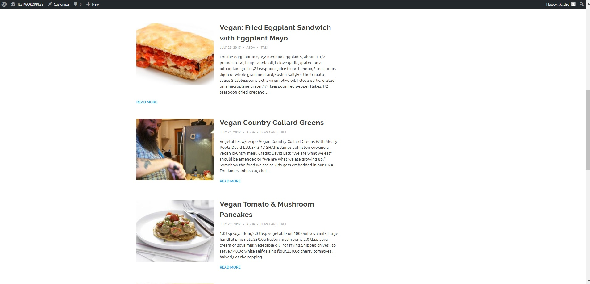 Recipeomatic automatic recipe post generator plugin for wordpress screenshotsex1g forumfinder Choice Image