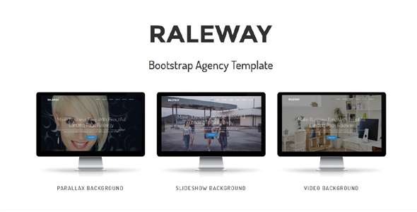 Raleway - Bootstrap Agency Template