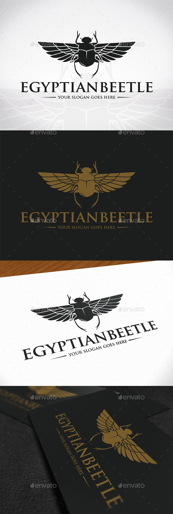 GraphicRiver Egyptian Beetle Logo Template 20410796