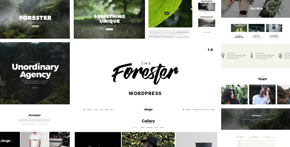 The Forester - A Creative WordPress Theme - Portfolio Creative