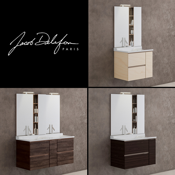 3DOcean washbasin jacob delafon SOPRANO 20410983
