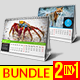 Desk Calendar 2018 Bundle - GraphicRiver Item for Sale
