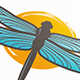 Dragonfly Creative Logo Template