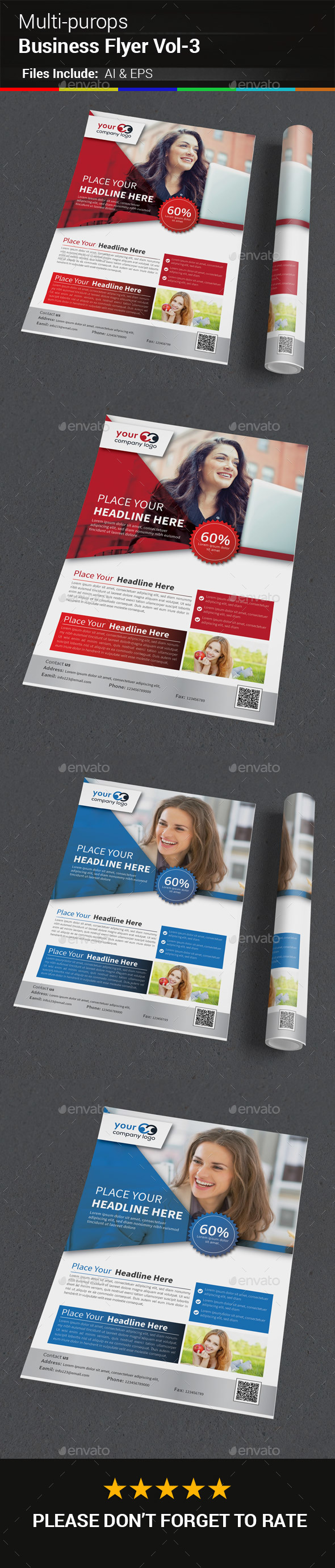 GraphicRiver Multipurops Business Flyer Vol-3 20411232