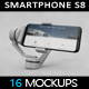 SmartPhone S8 Selfie Stick 2017 MockUp - GraphicRiver Item for Sale