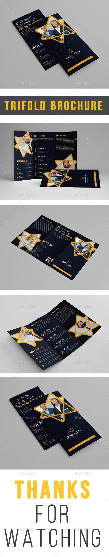 Clean Trifold Brochure - Brochures Print Templates