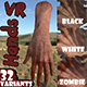 VR Hands I 32 VariationsI  I PBR I I Optimized I Low I