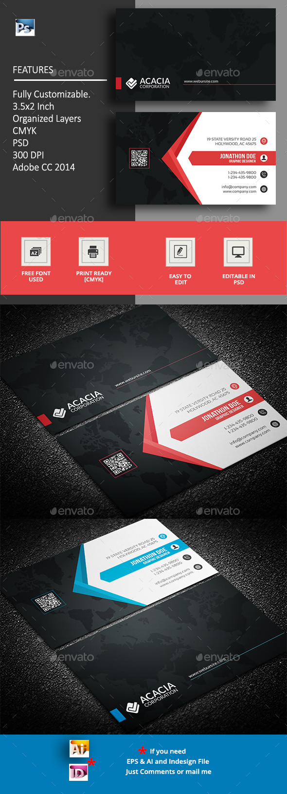 GraphicRiver Business Card 20411445