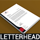 Clean Letterhead Template - GraphicRiver Item for Sale