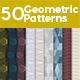 50 Seamless Geometric Patterns - GraphicRiver Item for Sale