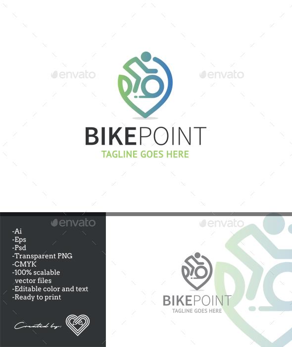 Bike Point - Symbols Logo Templates