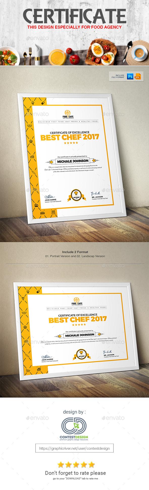 Certificate Design Template - Certificates Stationery