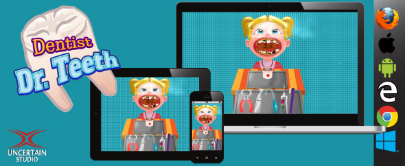 Dentist Doctor Teeth - HTML5 Game - CodeCanyon Item for Sale