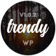 Trendy Pro - Responsive News Magazine Blog WordPress Theme - ThemeForest Item for Sale