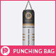 Punching Bag Mock-Up