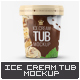 Ice Cream Tub Mock-Up - GraphicRiver Item for Sale