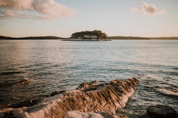 Hvar island seascape