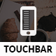 Touch Bar Mobile | Mobile Template