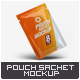 Pouch Sachet Mock-Up