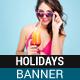 Beach Holidays Banner