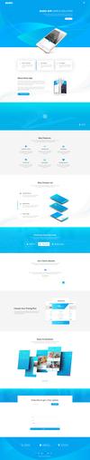01 nano app landing page.  thumbnail